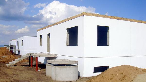 Жилые дома эконом класса производства